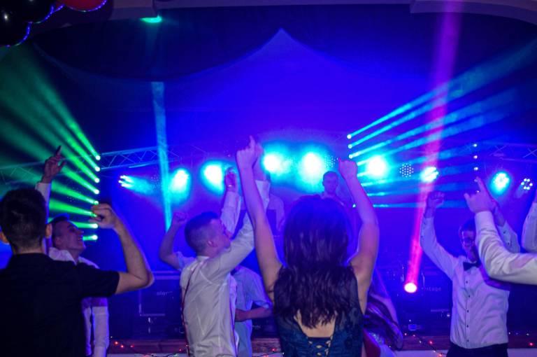 oświetlenie podczas imprezy